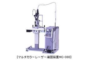 マルチカラーレーザー光凝固装置(MC-300)